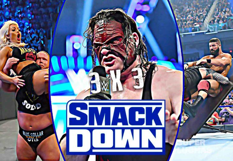 3x3 SmackDown 17 de enero 2020