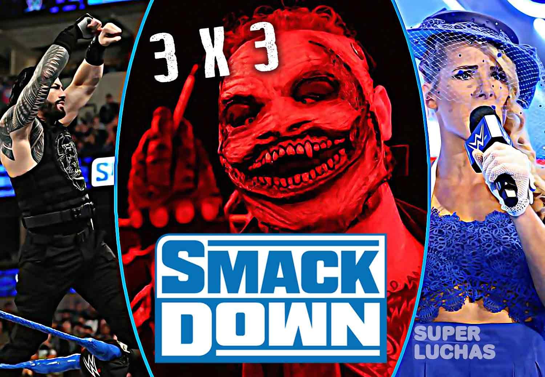 3x3 SmackDown 24 de enero 2020