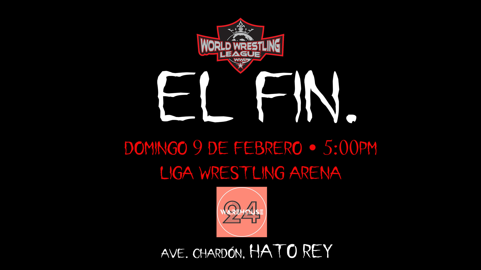 Llega el FIN de WWL y Nace Liga Wrestling en Puerto Rico 1