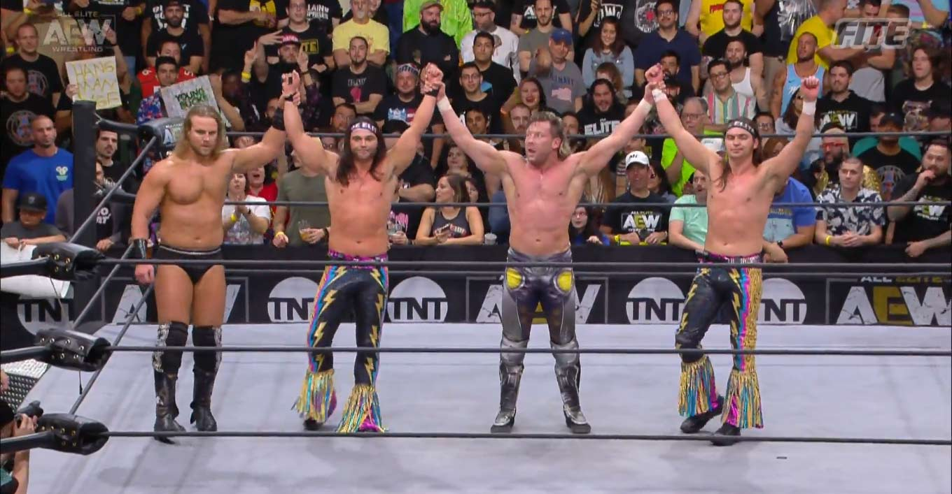 Ratings de AEW y NXT