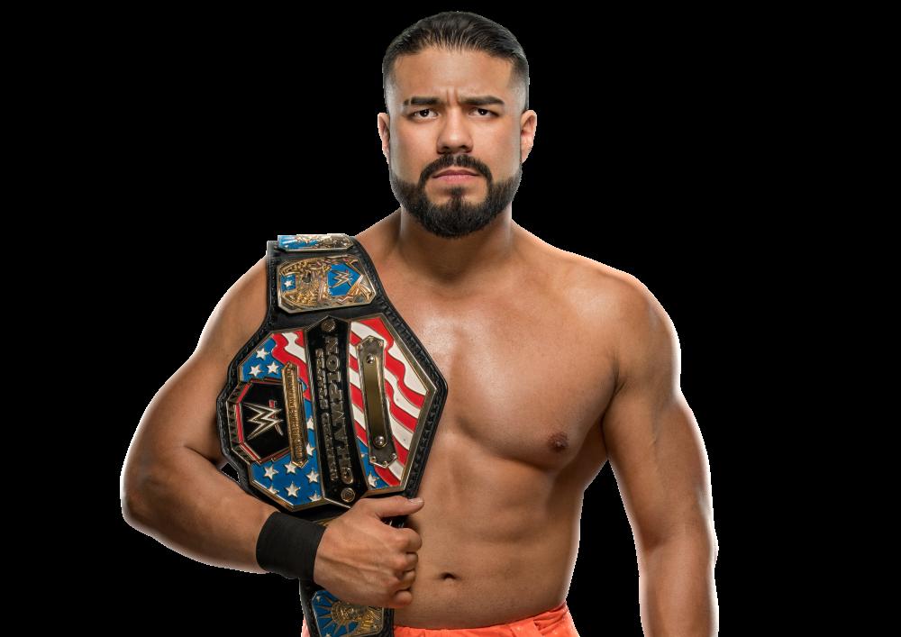 Andrade como Campeón de los Estados Unidos WWE / WWE Andrade ha sido suspendido de WWE
