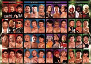 "BJW: ""World is not Enough"" Comienza torneo de tercias 4"