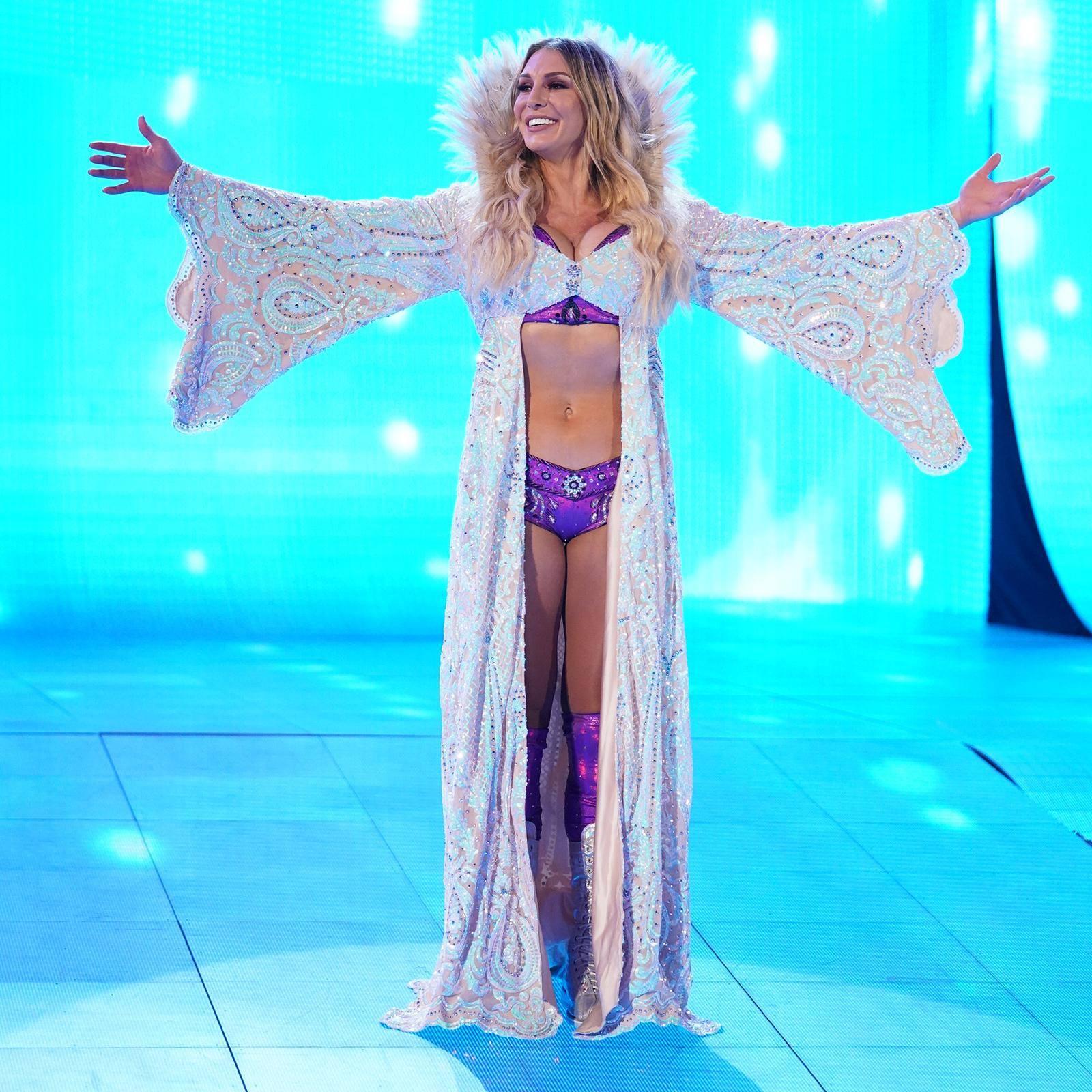 Charlotte Flair en WrestleMania 35