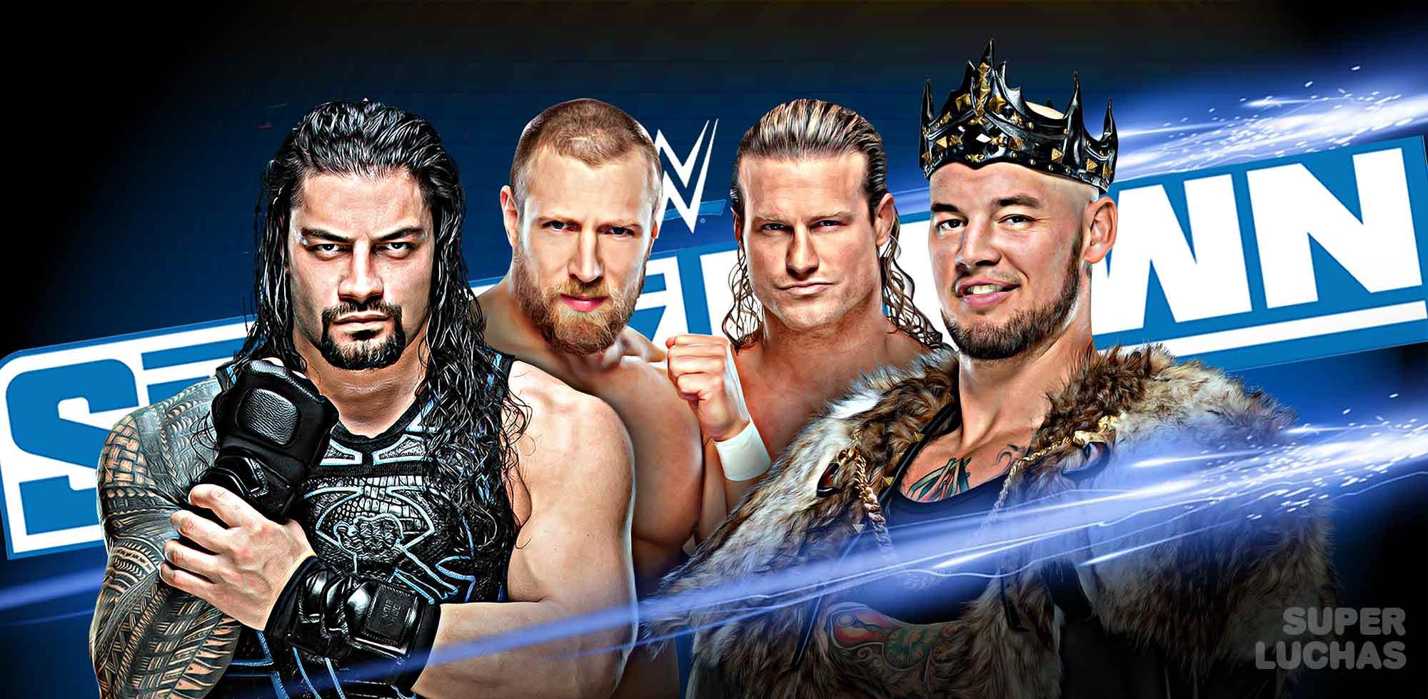 Resultados SmackDown 3 de enero 2020