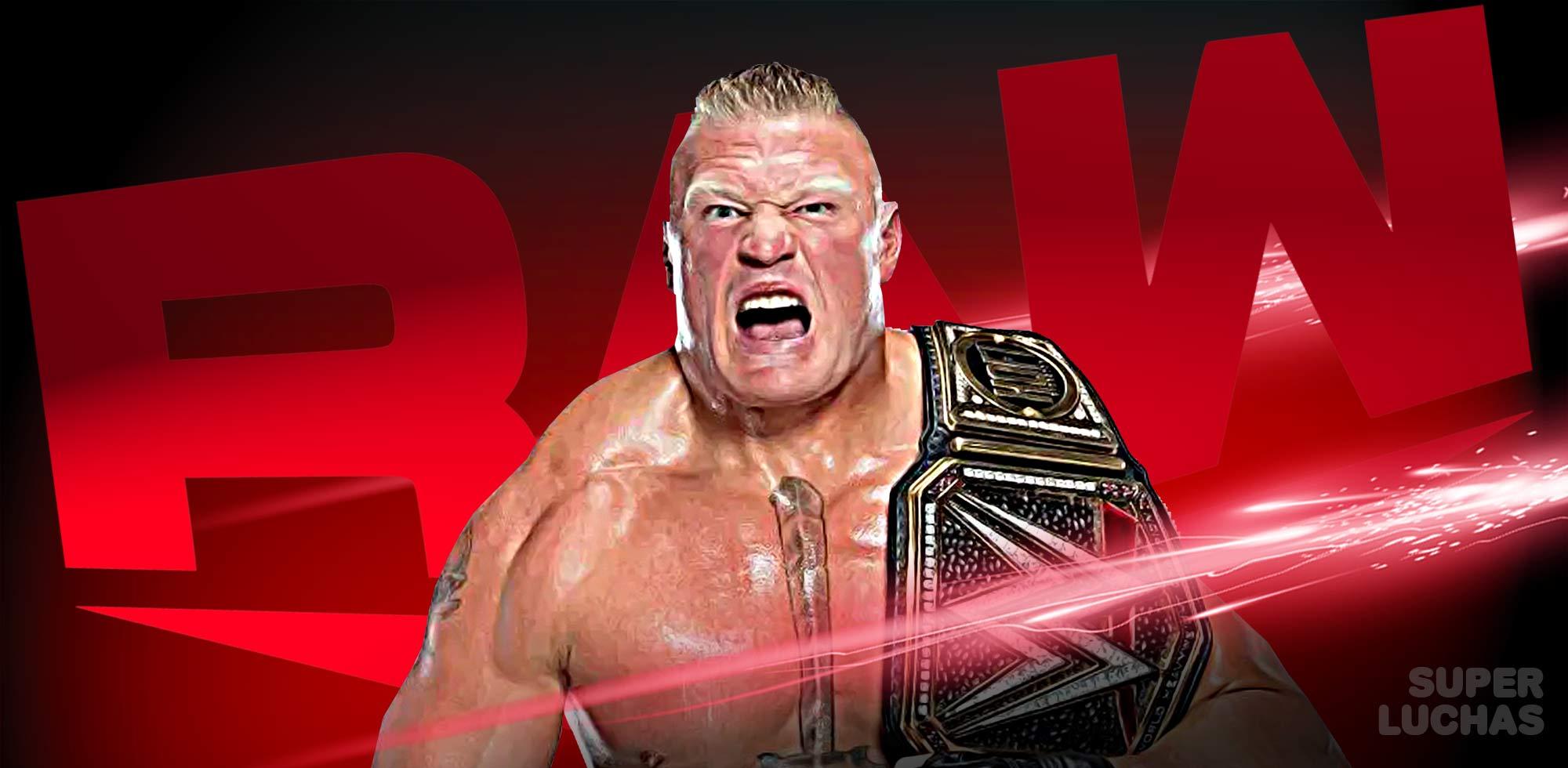 Resultados Raw 6 de enero 2020