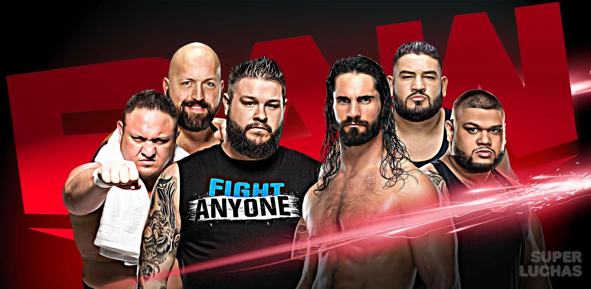 Resultados Raw 13 de enero 2020