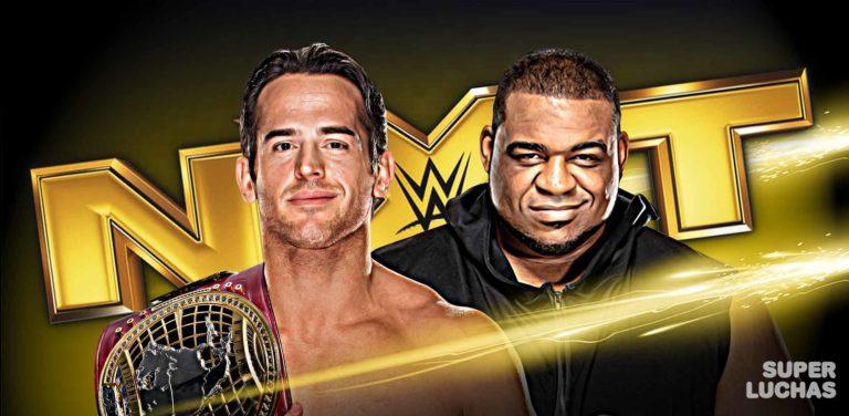 Resultados NXT 22 de enero 2020