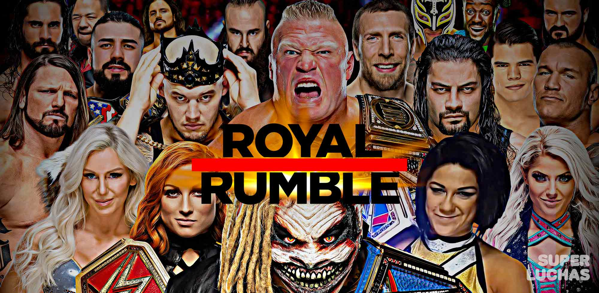 Resultados Royal Rumble 2020