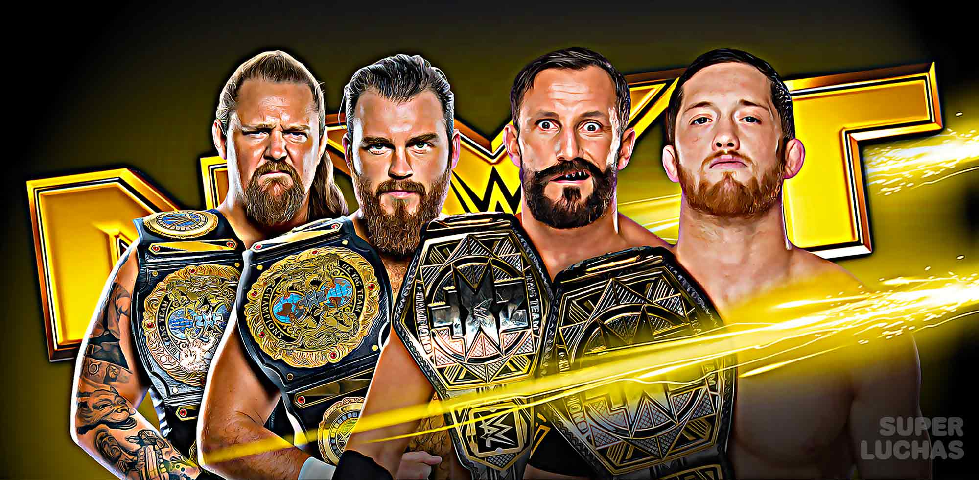 Resultados NXT 8 de enero 2020