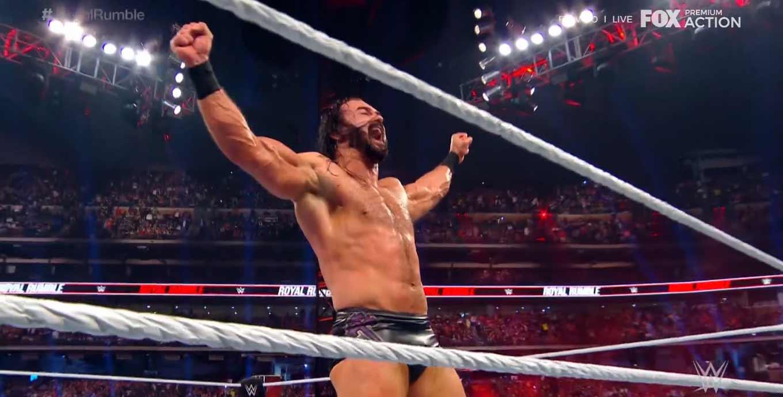 ¡Drew McIntyre es el ganador del Royal Rumble! 3