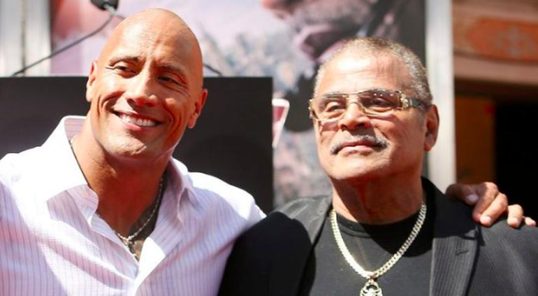 The Rock recuerda a Rocky Johnson