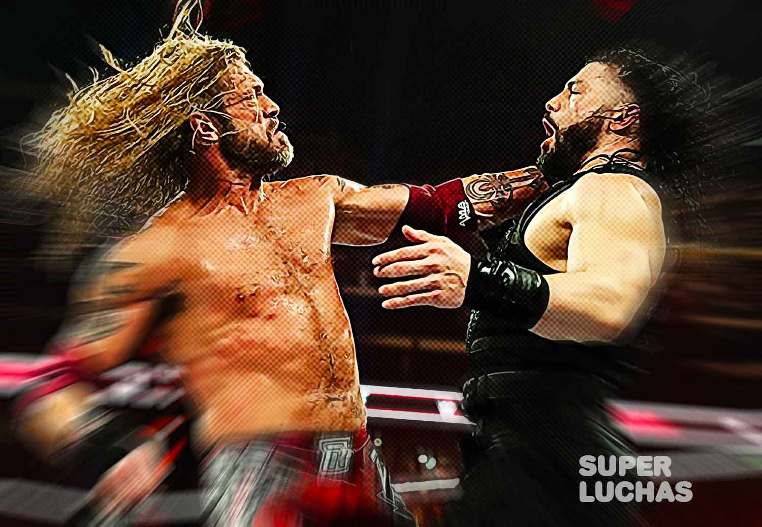 Edge vs Roman Reigns Royal Rumble 2020