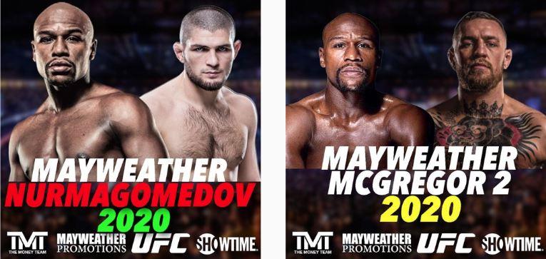 Mayweather va por McGregor y Nurmagomedov 13