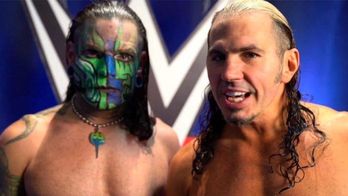 Jeff Hardy Matt Hardy ataca a WWE