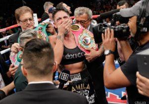 Alejandra Jiménez es campeona de peso supermedio 5