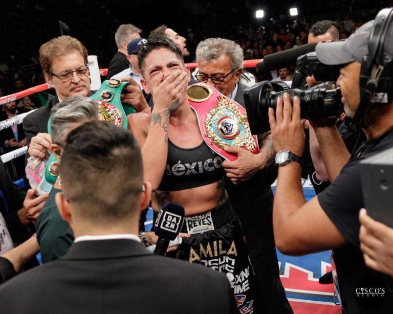 CMB despojó a Alejandra Jiménez de título 1