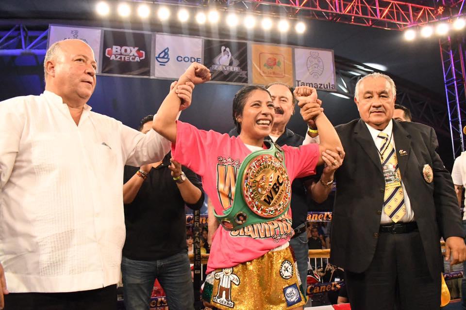 Kenia Enríquez triunfó en Jalisco 15