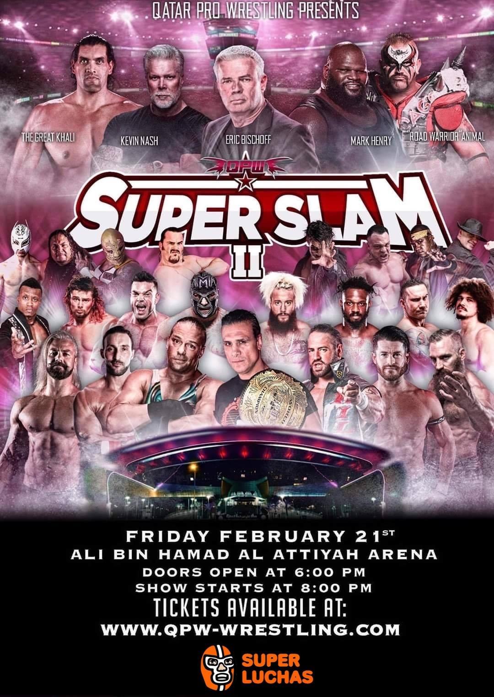 QPW: Disponibles los Boletos para Super Slam II 2