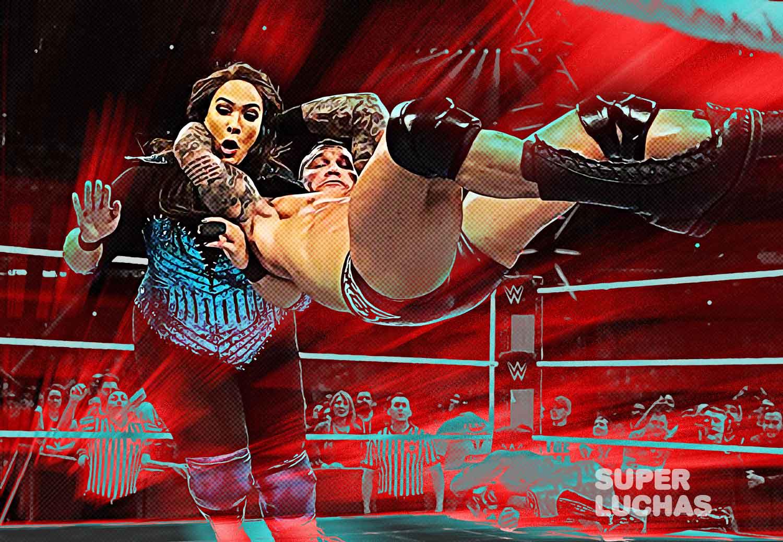 Randy Orton vs Nia Jax
