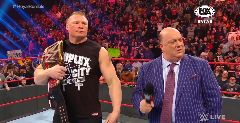 Raw 13 de enero 2020