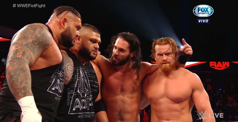 WWE RAW (13 de enero 2020) | Resultados en vivo | ¡A puñetazo limpio! 39