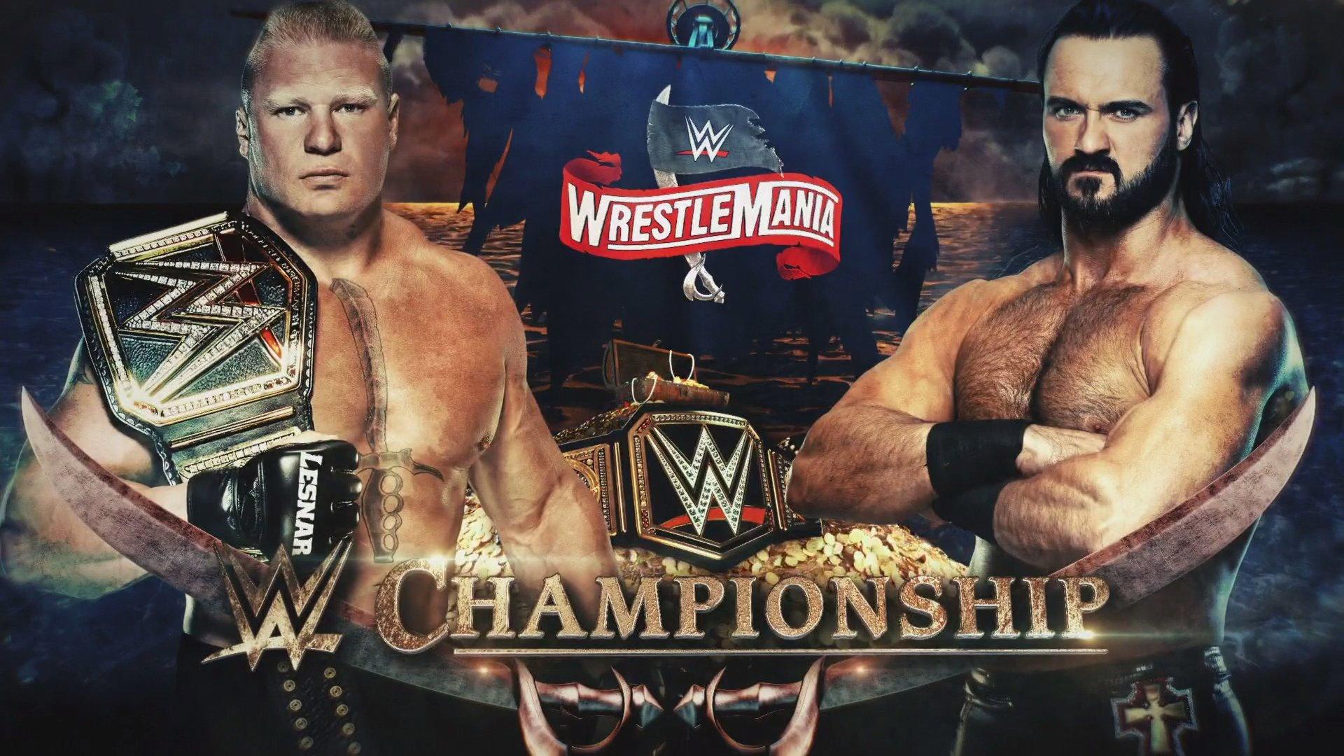 Brock Lesnar vs. Drew McIntyre