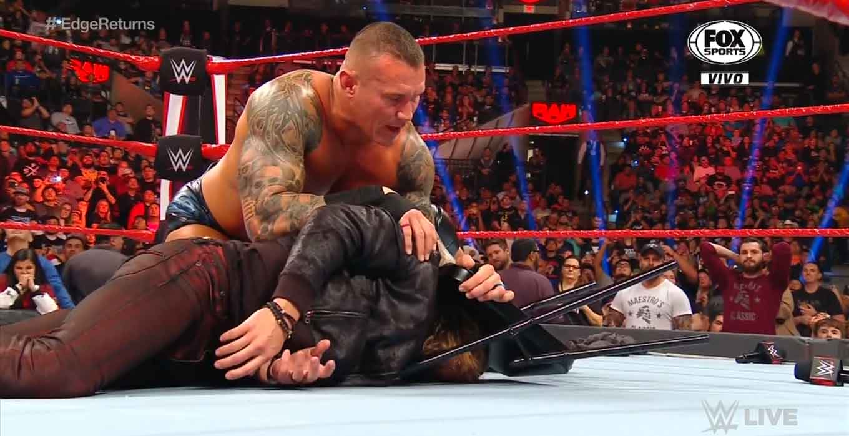 WWE RAW (27 de enero 2020) | Resultados en vivo | El regreso de Edge 22