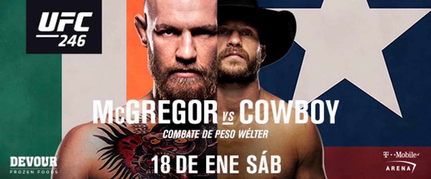 Reacciones a la victoria de Conor McGregor en UFC 246 4
