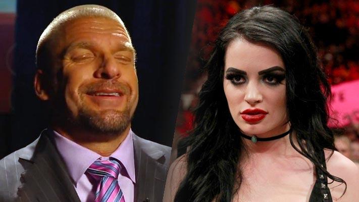 Triple H y Paige / WWE