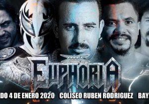 WWC: Cartel para Euphoria 2020 - Epico frente a Texano Jr por el Campeonato Universal 6