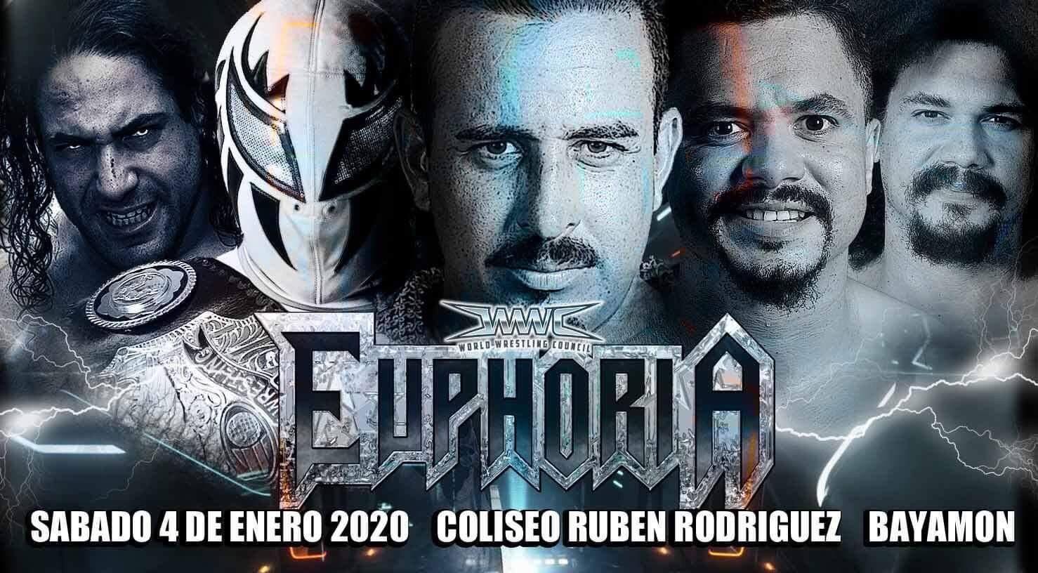 WWC: Cartel para Euphoria 2020 - Epico frente a Texano Jr por el Campeonato Universal 2