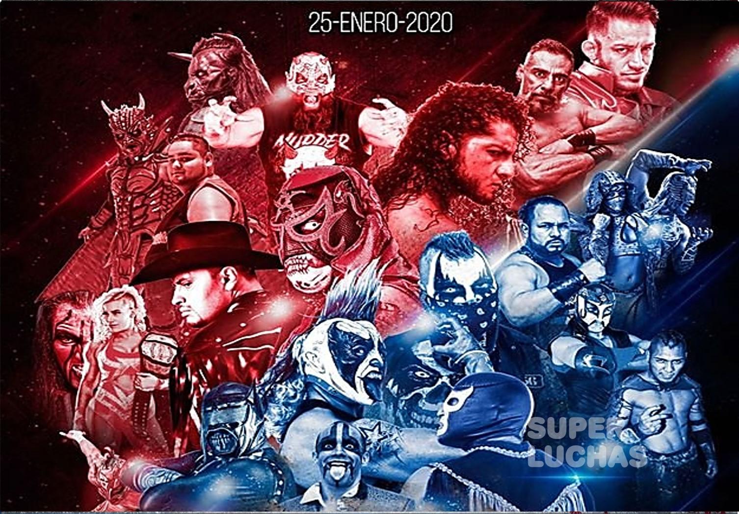 """AAA: Cartel del arranque de gira 2020 """"Nacemos para luchar"""" 1"""