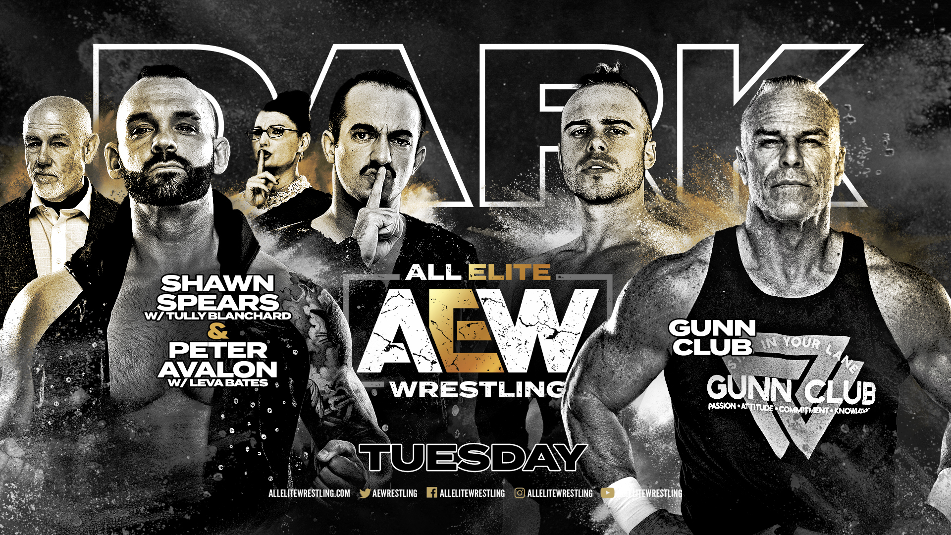 Resultados AEW Dark Episodio 15 | Gunn Club en acción 41
