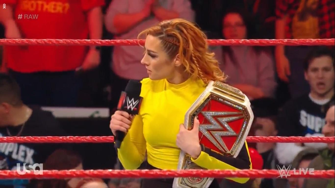 WWE RAW (6 de enero 2020)   Resultados en vivo   Regresa Brock Lesnar 23