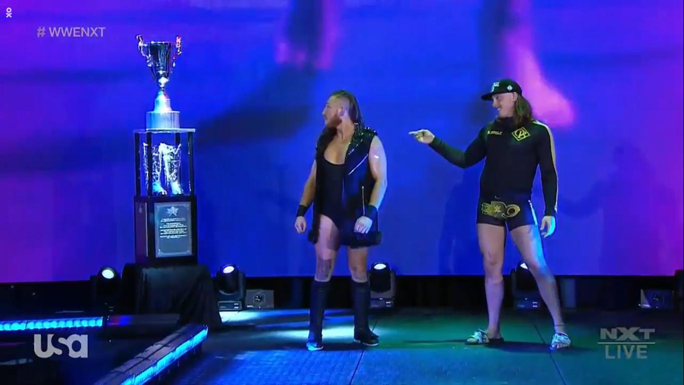 NXT (15 de enero 2020) | Resultados en vivo | El regreso de los Time Splitters 3