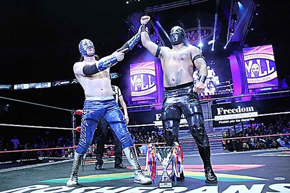 CMLL: Templario es el Rey del Aire 2020 1
