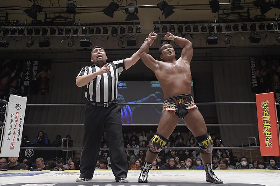 """DDT: """"D-Ou Grand Prix 2020"""" Masato Tanaka es el ganador 3"""