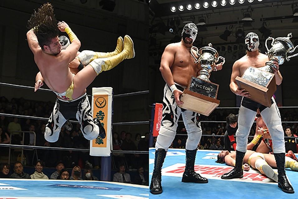 """NJPW/CMLL: """"Fantasticamania 2020"""" Emocionante torneo de Parejas Familiares 1"""
