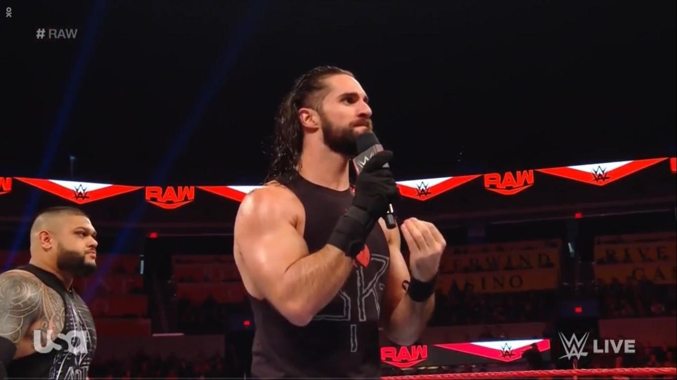 WWE RAW (6 de enero 2020)   Resultados en vivo   Regresa Brock Lesnar 45