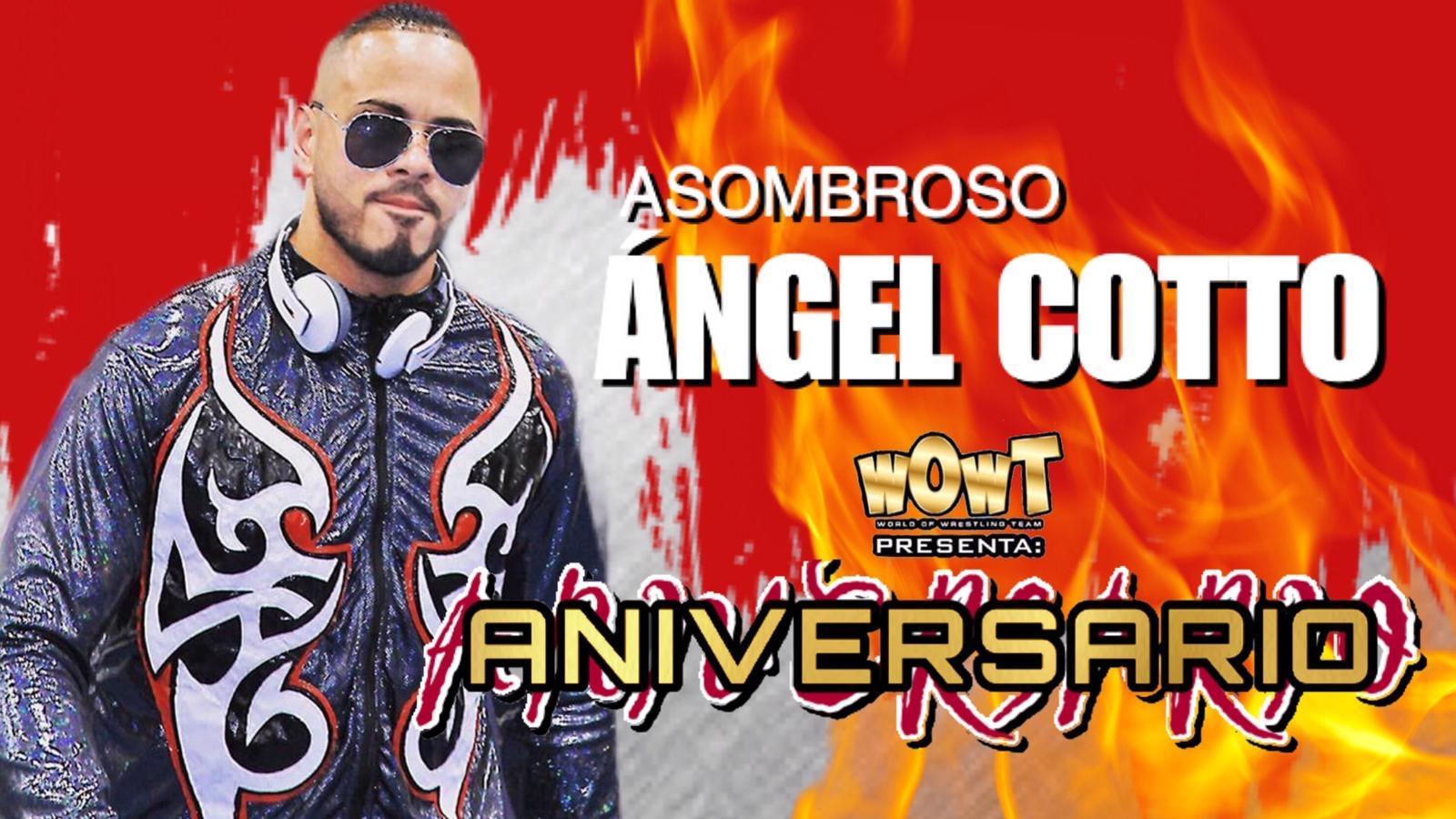 """WOWT: """"Hago un reto abierto para cualquier luchador en Aniversario"""" Angel Cotto 8"""