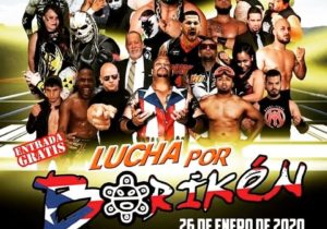 Evento de Lucha Libre para Damnificados en Puerto Rico - Lucha por Borikén 6