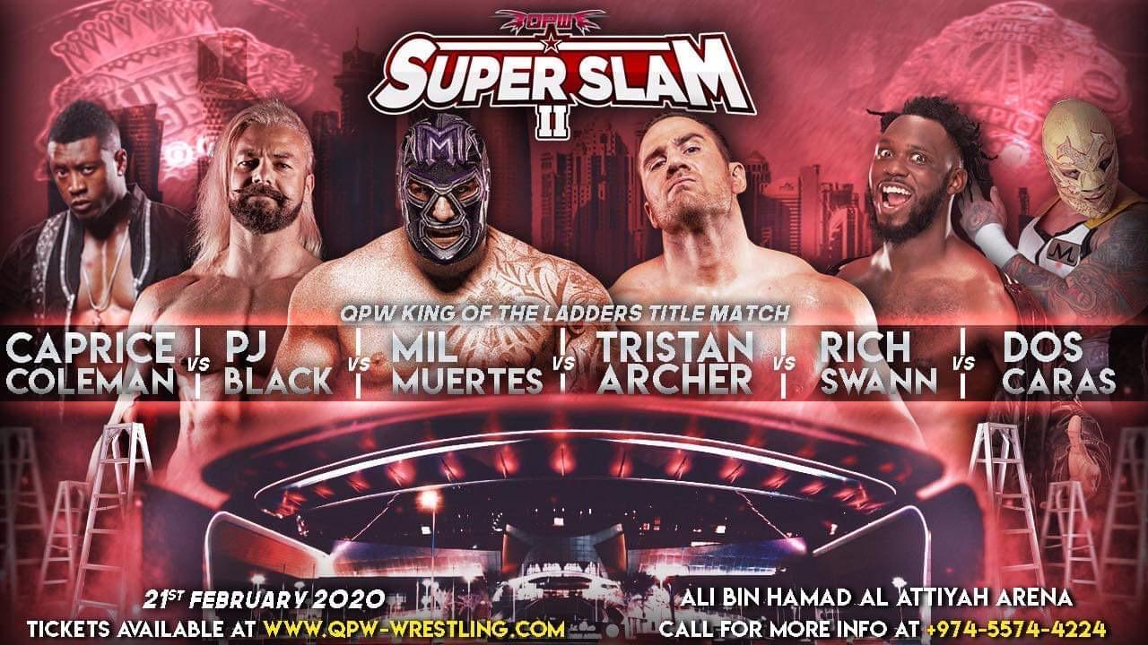 QPW: Cartel final para SUPER SLAM en Qatar - Alberto el Patrón a defender su Campeonato 3