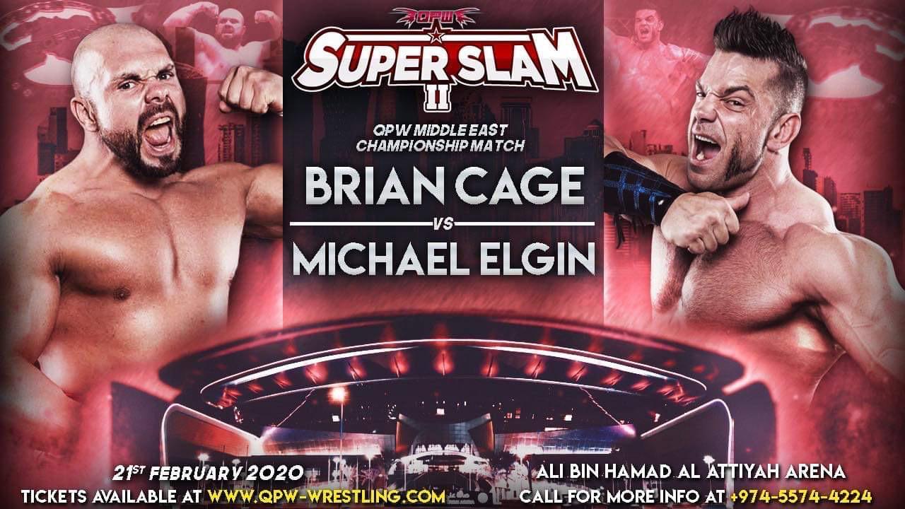 QPW: Cartel final para SUPER SLAM en Qatar - Alberto el Patrón a defender su Campeonato 5