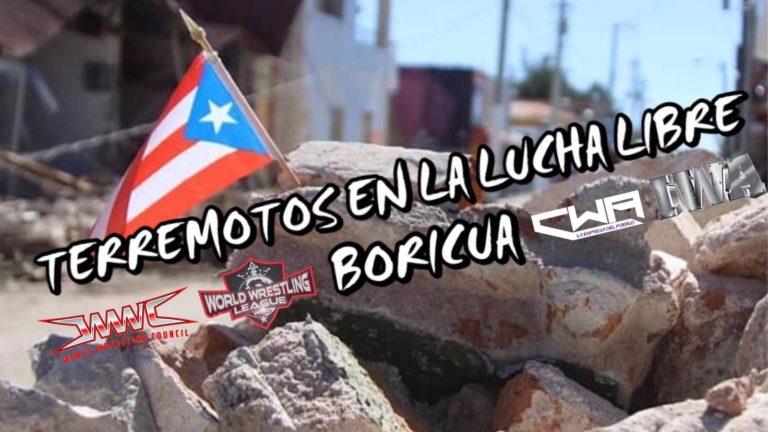 VIDEO: Terremotos en la Lucha Libre Boricua 1