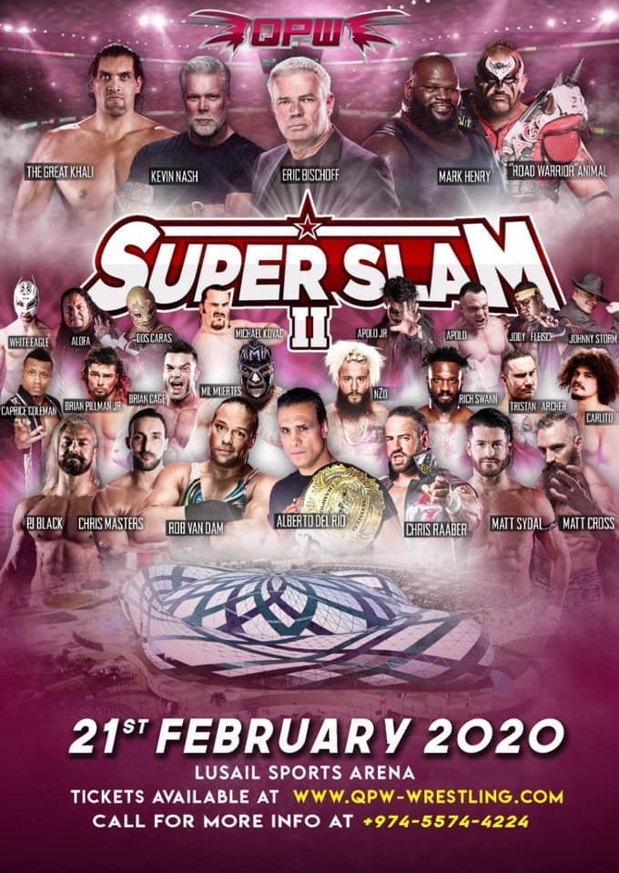 QPW: Super Slam II ahora en el Lusail Sports Arena 2