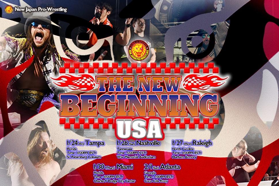"NJPW: Listos los carteles para ""The New Beginning in USA"" 5"
