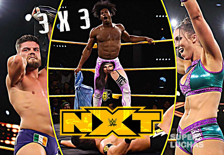 NXT 19 de febrero 2020