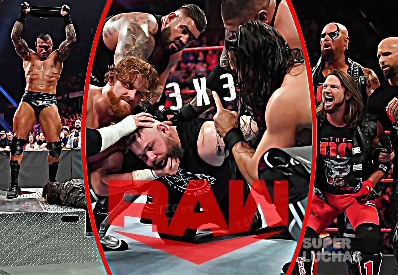 3x3 Raw 17 de febrero 2020
