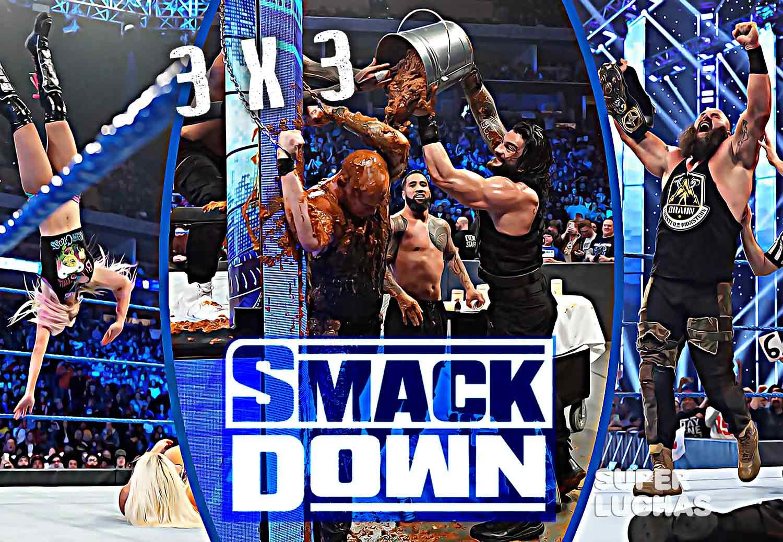 3x3 SmackDown 31 de enero 2020