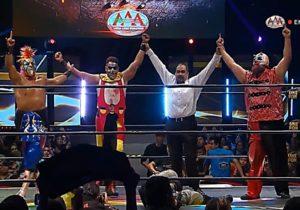"""AAA: """"Nacemos para luchar"""" Reencuentro de los Psycho Circus 5"""